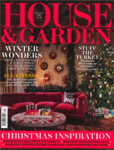 House and Garden UK December 2017 Cover