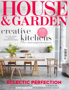 House & Garden UK - February 2018 - The Art Edit