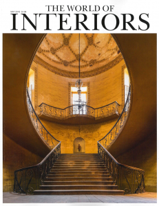The World of Interiors, Artistic Impressions, April 2018