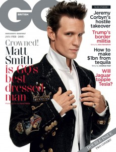 British GQ- Matt-Smith-The-Crown-GQ-UK-Magazine-January-February-2018-In With The New