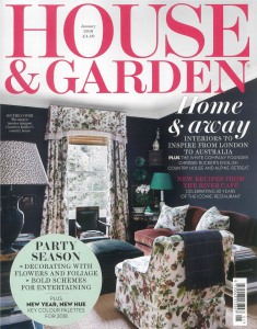 House & Garden UK - January 2018 - The Art Edit