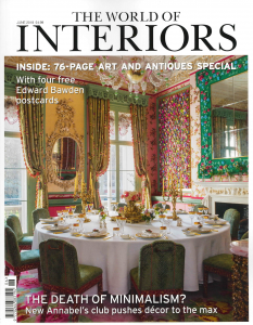 The World of Interiors, Artistic Impressions, June 2018